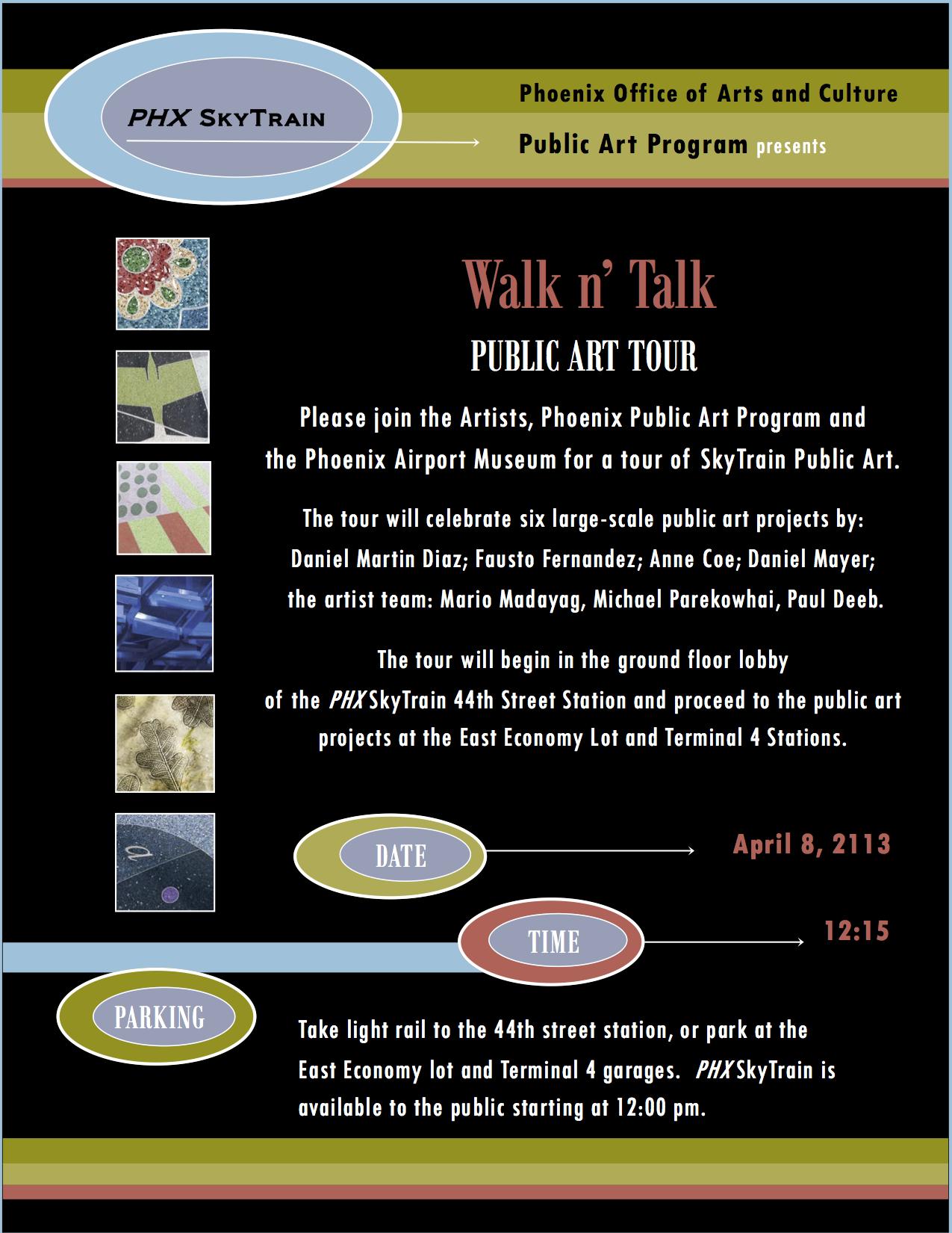 Sky Train Public Art Tours
