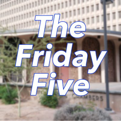 Friday Five: Phoenix City Council meetings