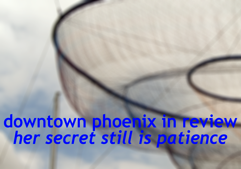 Downtown Phoenix In Review 2014 graphic