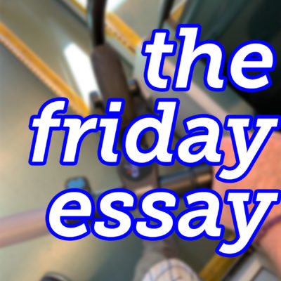 The Friday Essay: Scooting Midtown